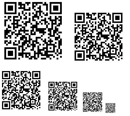 投票のためのQRコード画像